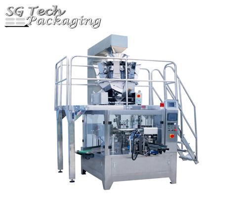 SGB300-GD6 Unidad de máquina envasadora automática rotatoria