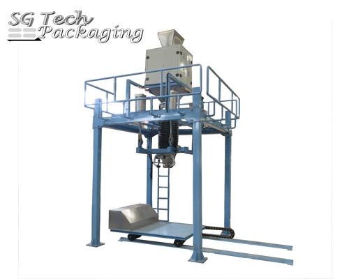 Unidad de máquina envasadora automática de sacos de 1 tonelada SGJ-DB