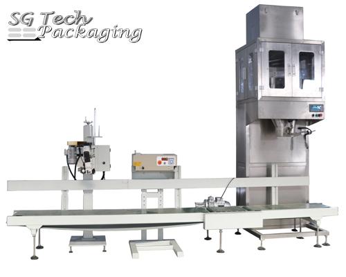 Línea de unidades de máquinas envasadoras semi-automáticas Serie SGJ-P