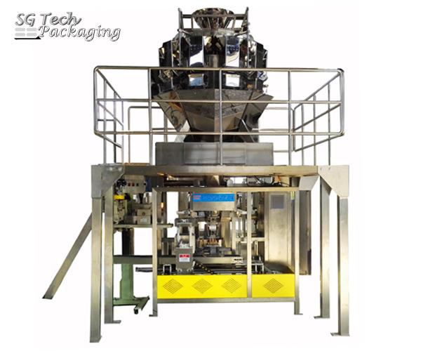 Unidad de envasado de productos voluminosos automática SGJ-ZDA