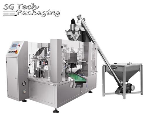 SGB200-GD6 Unidad de máquina envasadora automática rotatoria